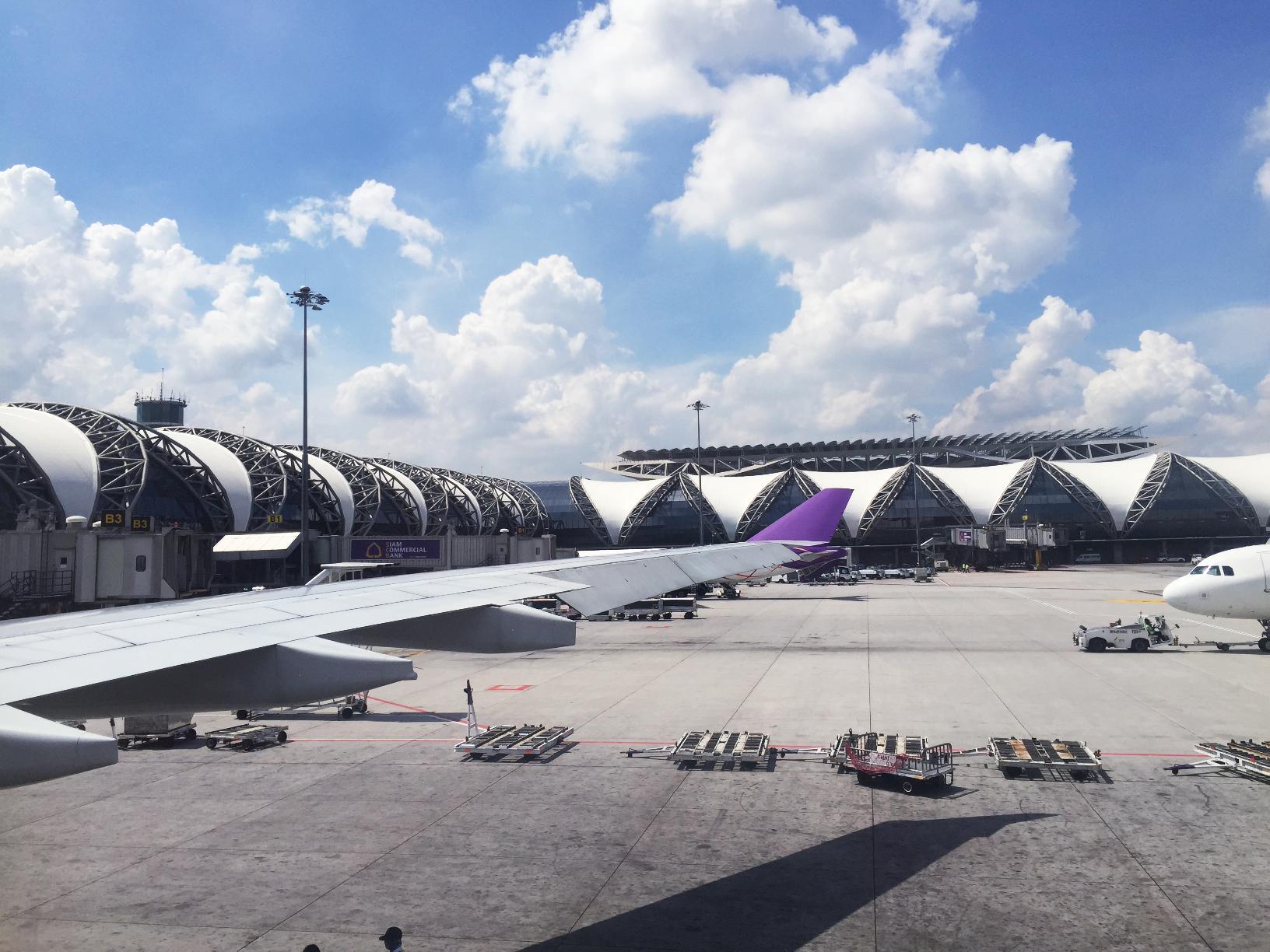 Bye Bangkok! See you again in a few days :)