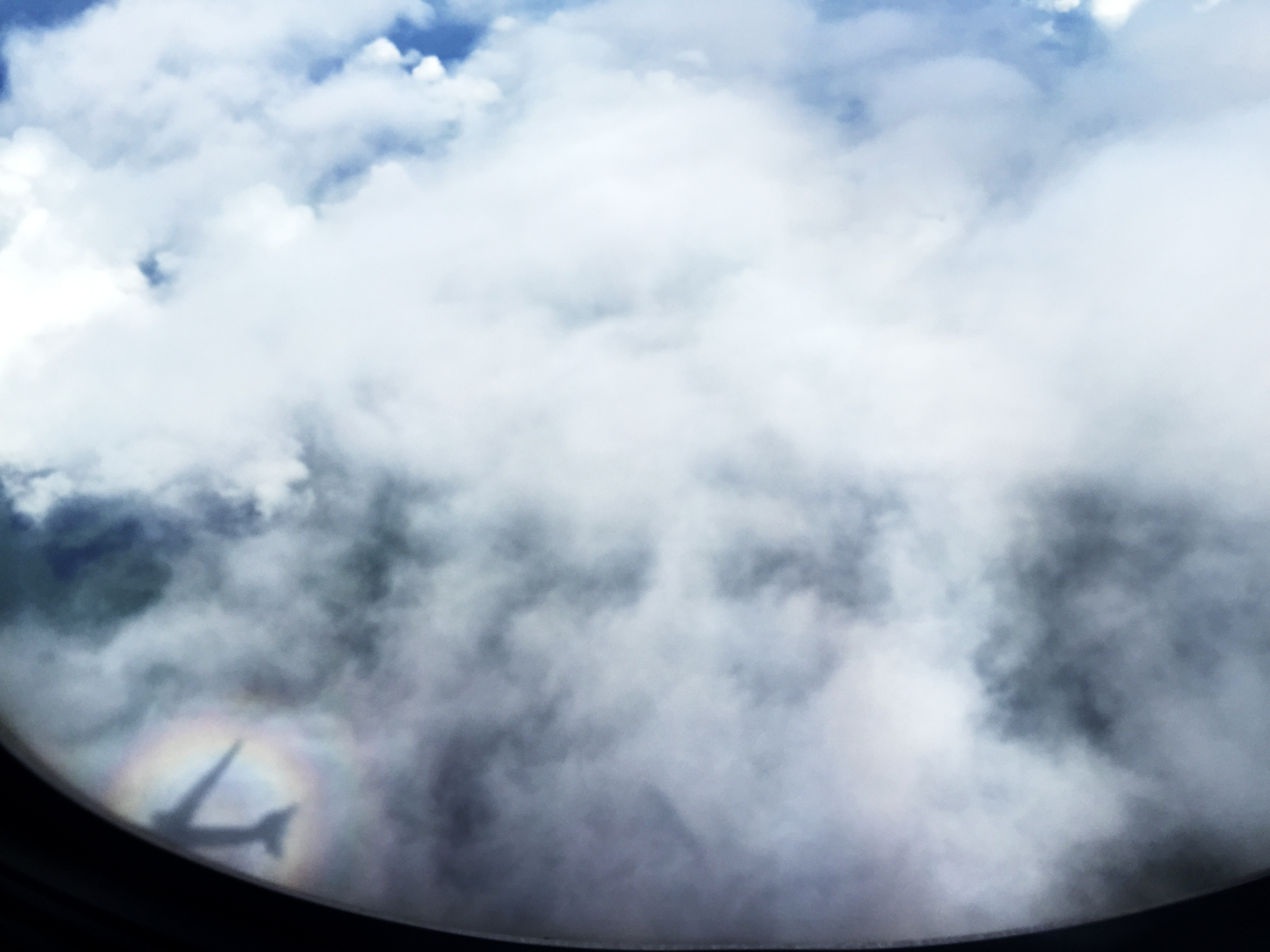 Le gasp! What is that rainbow halo?