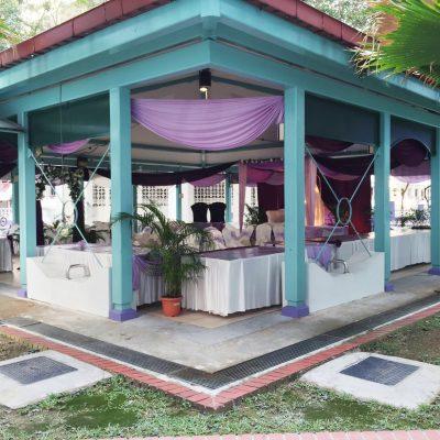 A setup for a Malay wedding!