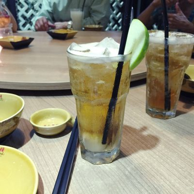 My lychee tea :P